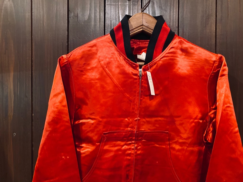 マグネッツ神戸店 8/8(土)Made in U.S.A. Nylon/Satin Varsity Jacket入荷! #1 Satin Varsity JKT!!!_c0078587_14541128.jpg