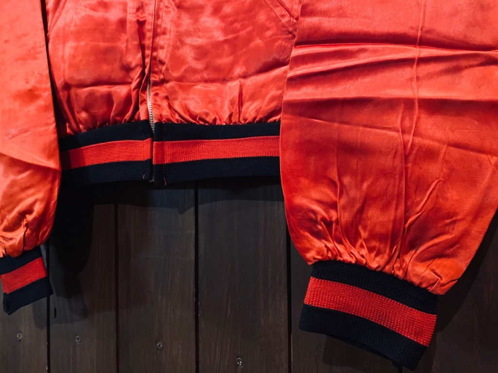 マグネッツ神戸店 8/8(土)Made in U.S.A. Nylon/Satin Varsity Jacket入荷! #1 Satin Varsity JKT!!!_c0078587_14541268.jpg