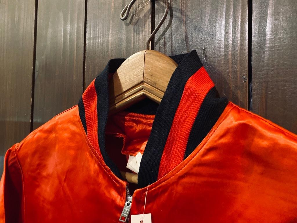 マグネッツ神戸店 8/8(土)Made in U.S.A. Nylon/Satin Varsity Jacket入荷! #1 Satin Varsity JKT!!!_c0078587_14541281.jpg