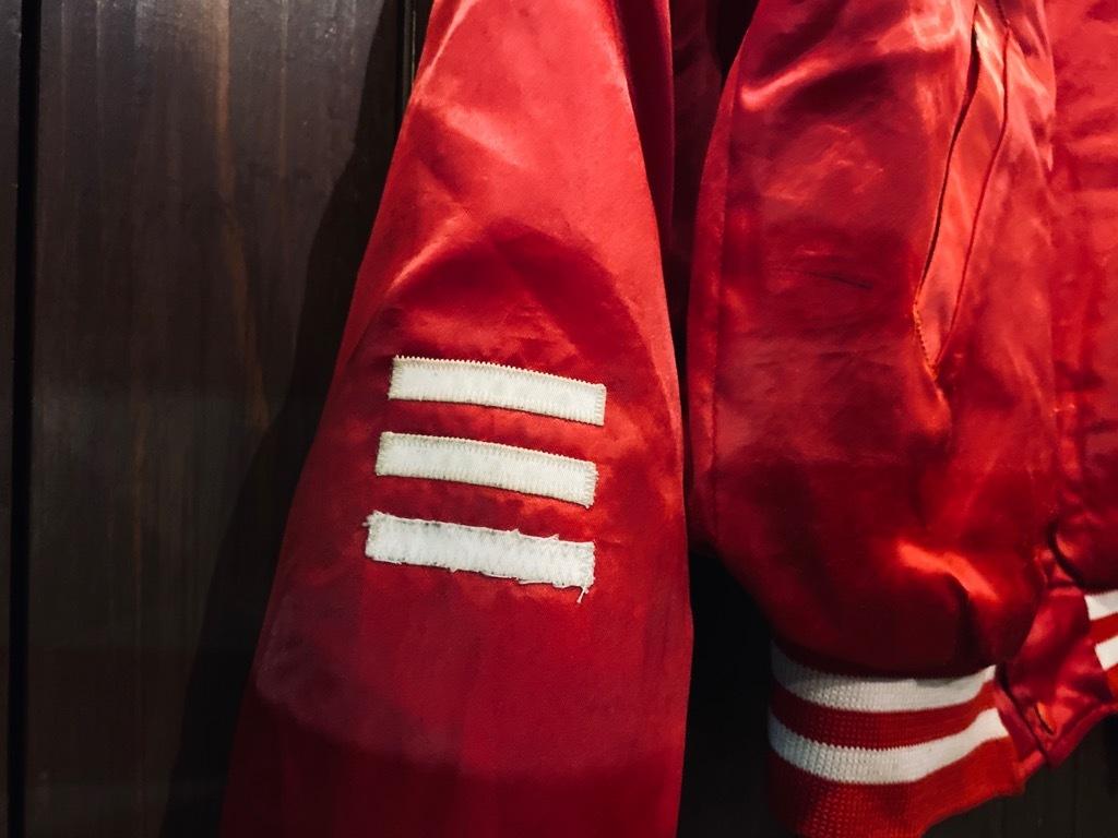 マグネッツ神戸店 8/8(土)Made in U.S.A. Nylon/Satin Varsity Jacket入荷! #1 Satin Varsity JKT!!!_c0078587_14545943.jpg