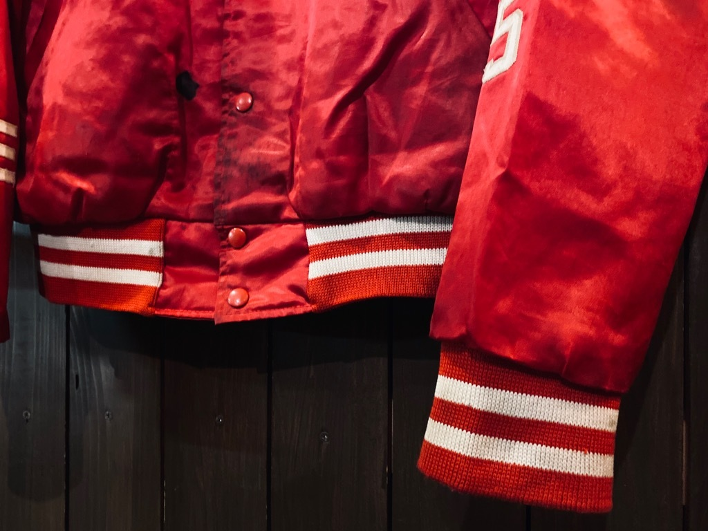 マグネッツ神戸店 8/8(土)Made in U.S.A. Nylon/Satin Varsity Jacket入荷! #1 Satin Varsity JKT!!!_c0078587_14545955.jpg