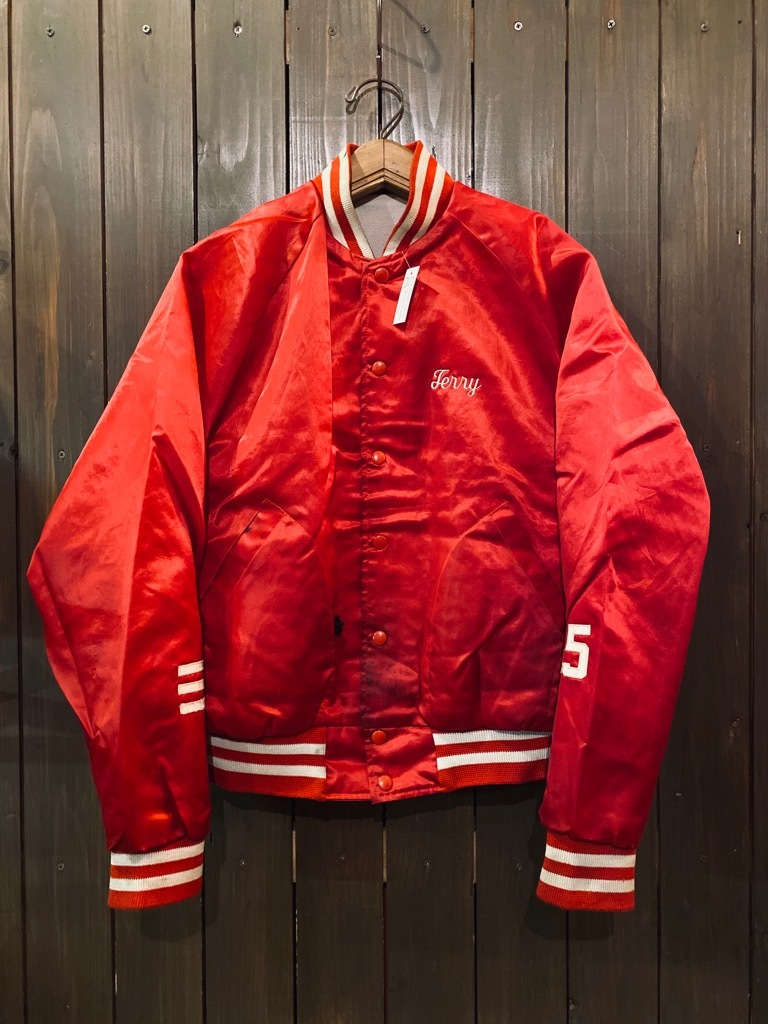 マグネッツ神戸店 8/8(土)Made in U.S.A. Nylon/Satin Varsity Jacket入荷! #1 Satin Varsity JKT!!!_c0078587_14550020.jpg
