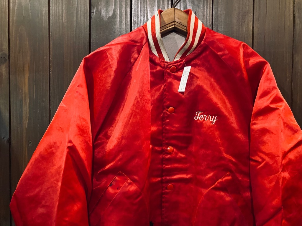 マグネッツ神戸店 8/8(土)Made in U.S.A. Nylon/Satin Varsity Jacket入荷! #1 Satin Varsity JKT!!!_c0078587_14550070.jpg