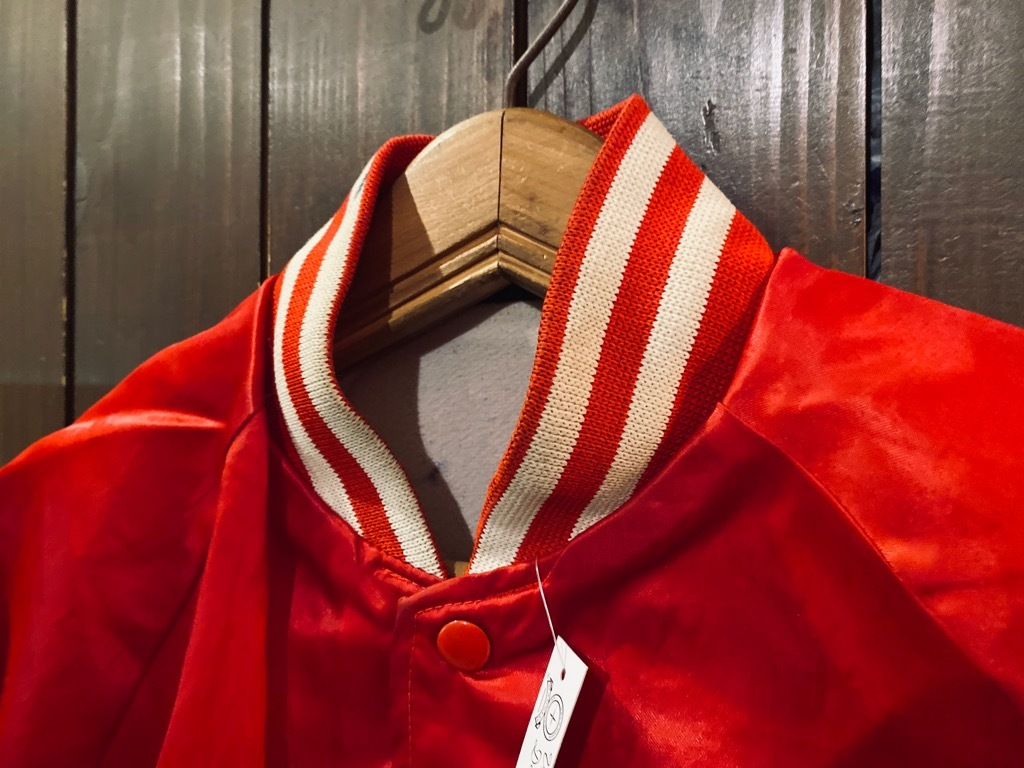 マグネッツ神戸店 8/8(土)Made in U.S.A. Nylon/Satin Varsity Jacket入荷! #1 Satin Varsity JKT!!!_c0078587_14550085.jpg