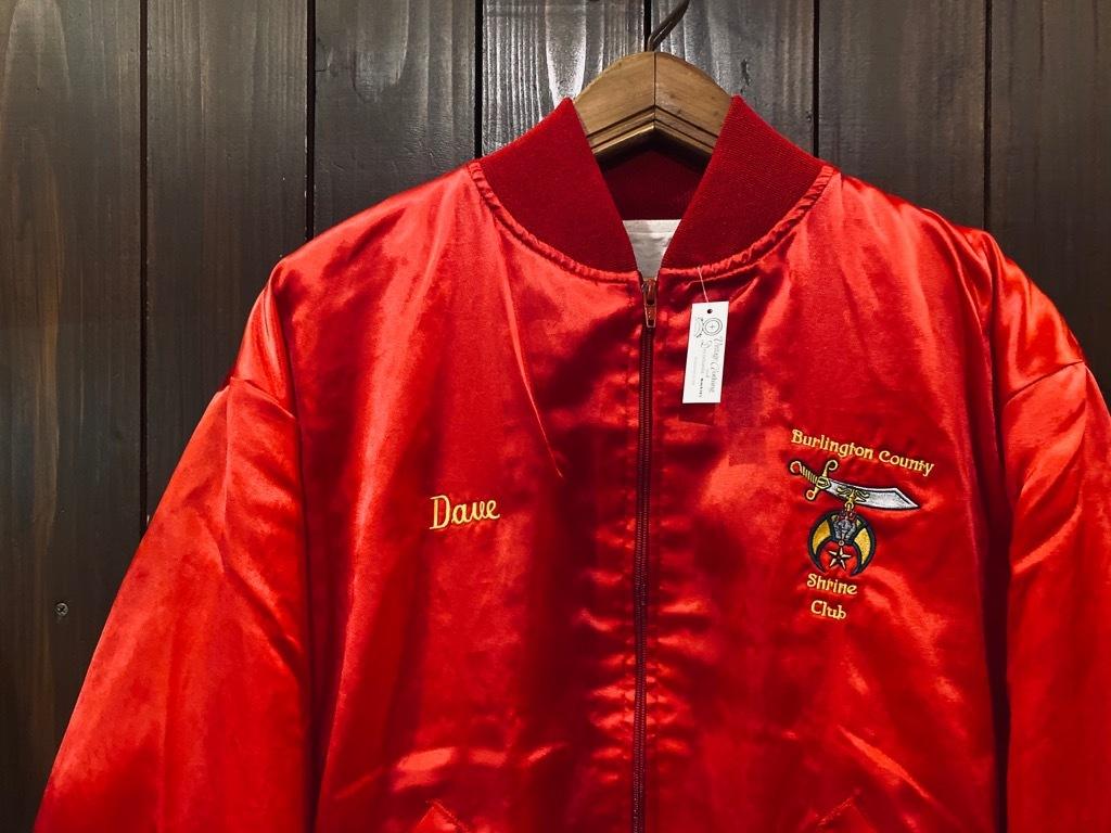 マグネッツ神戸店 8/8(土)Made in U.S.A. Nylon/Satin Varsity Jacket入荷! #1 Satin Varsity JKT!!!_c0078587_14562087.jpg