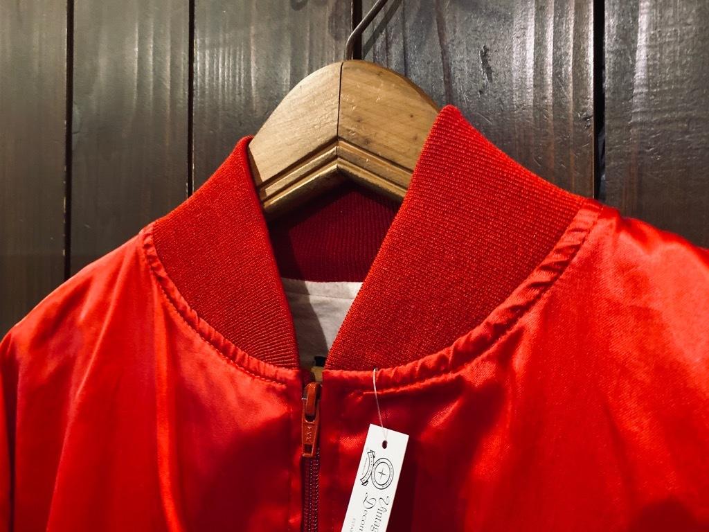 マグネッツ神戸店 8/8(土)Made in U.S.A. Nylon/Satin Varsity Jacket入荷! #1 Satin Varsity JKT!!!_c0078587_14562124.jpg