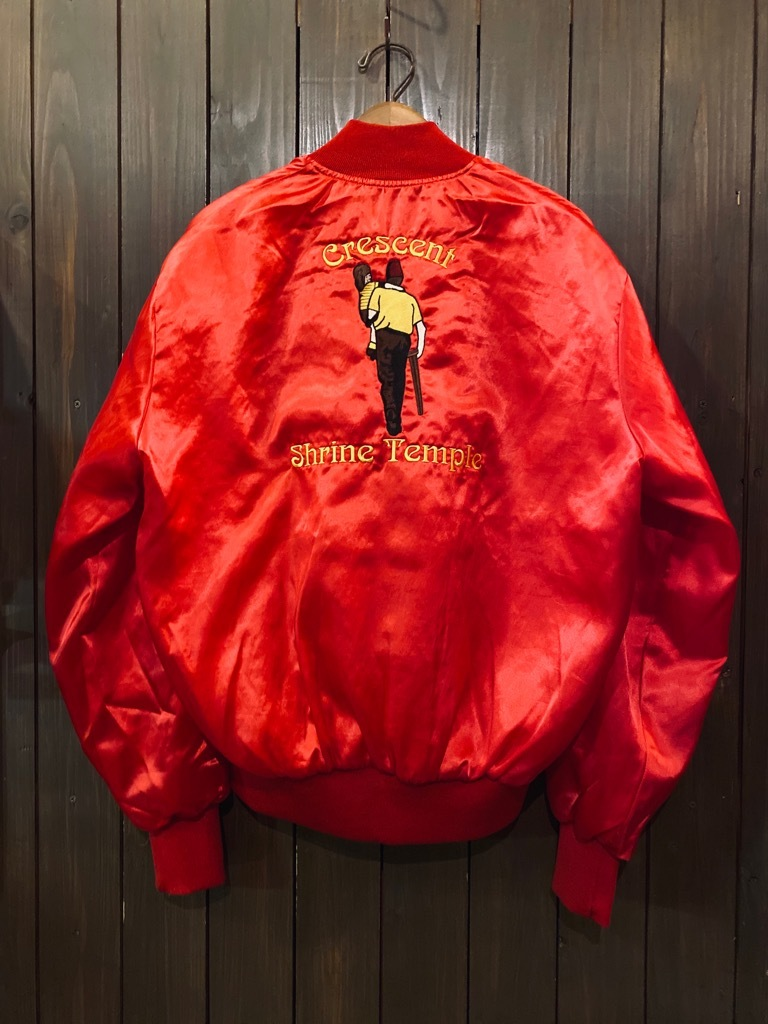 マグネッツ神戸店 8/8(土)Made in U.S.A. Nylon/Satin Varsity Jacket入荷! #1 Satin Varsity JKT!!!_c0078587_14562176.jpg