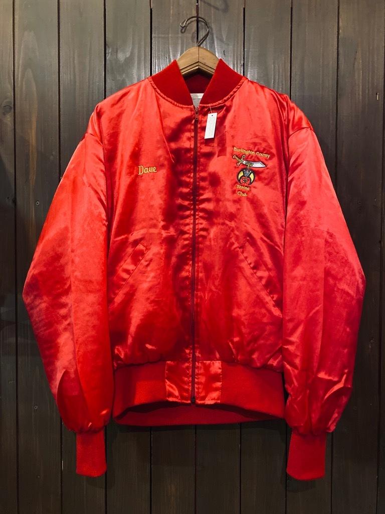 マグネッツ神戸店 8/8(土)Made in U.S.A. Nylon/Satin Varsity Jacket入荷! #1 Satin Varsity JKT!!!_c0078587_14562216.jpg