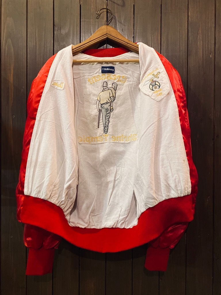マグネッツ神戸店 8/8(土)Made in U.S.A. Nylon/Satin Varsity Jacket入荷! #1 Satin Varsity JKT!!!_c0078587_14570697.jpg