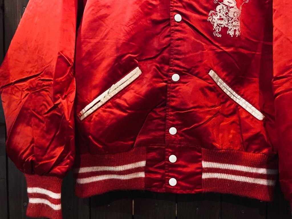 マグネッツ神戸店 8/8(土)Made in U.S.A. Nylon/Satin Varsity Jacket入荷! #1 Satin Varsity JKT!!!_c0078587_14572890.jpg