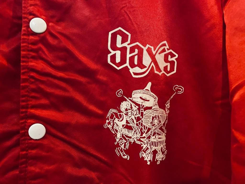 マグネッツ神戸店 8/8(土)Made in U.S.A. Nylon/Satin Varsity Jacket入荷! #1 Satin Varsity JKT!!!_c0078587_14572897.jpg