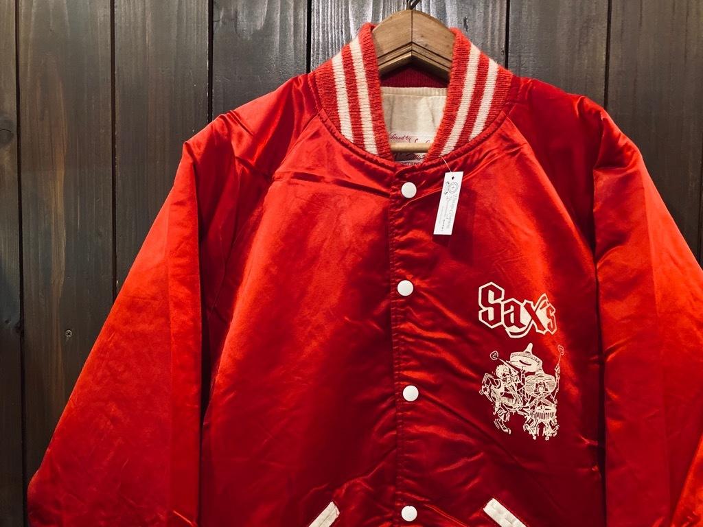 マグネッツ神戸店 8/8(土)Made in U.S.A. Nylon/Satin Varsity Jacket入荷! #1 Satin Varsity JKT!!!_c0078587_14572950.jpg