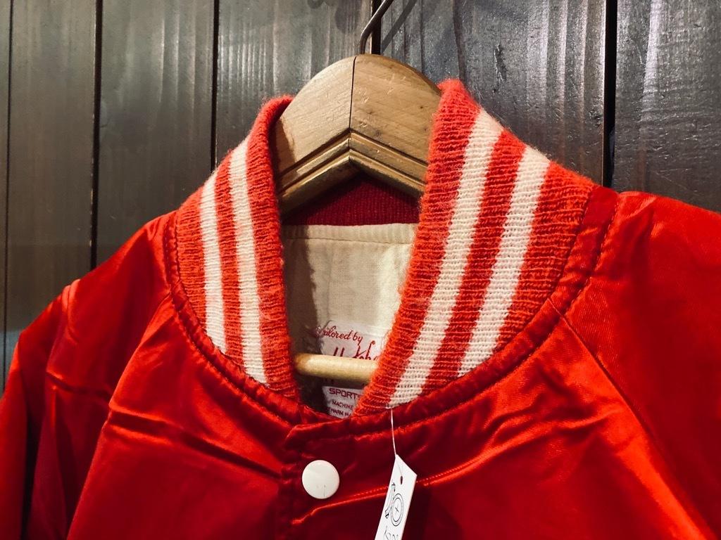 マグネッツ神戸店 8/8(土)Made in U.S.A. Nylon/Satin Varsity Jacket入荷! #1 Satin Varsity JKT!!!_c0078587_14572986.jpg