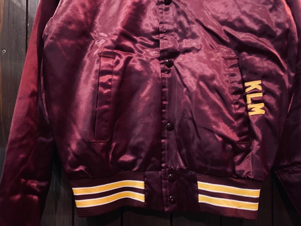 マグネッツ神戸店 8/8(土)Made in U.S.A. Nylon/Satin Varsity Jacket入荷! #1 Satin Varsity JKT!!!_c0078587_14580680.jpg