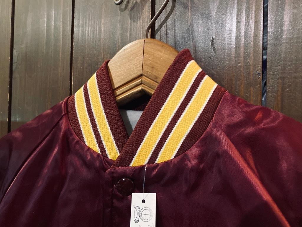マグネッツ神戸店 8/8(土)Made in U.S.A. Nylon/Satin Varsity Jacket入荷! #1 Satin Varsity JKT!!!_c0078587_14580698.jpg