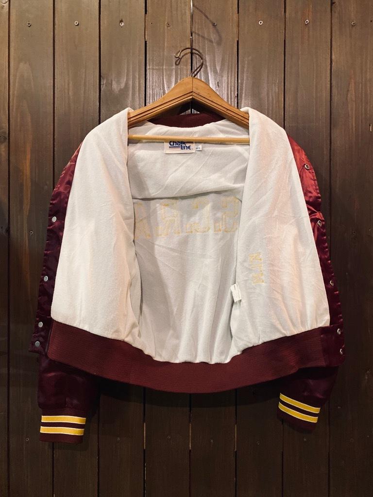 マグネッツ神戸店 8/8(土)Made in U.S.A. Nylon/Satin Varsity Jacket入荷! #1 Satin Varsity JKT!!!_c0078587_14580737.jpg