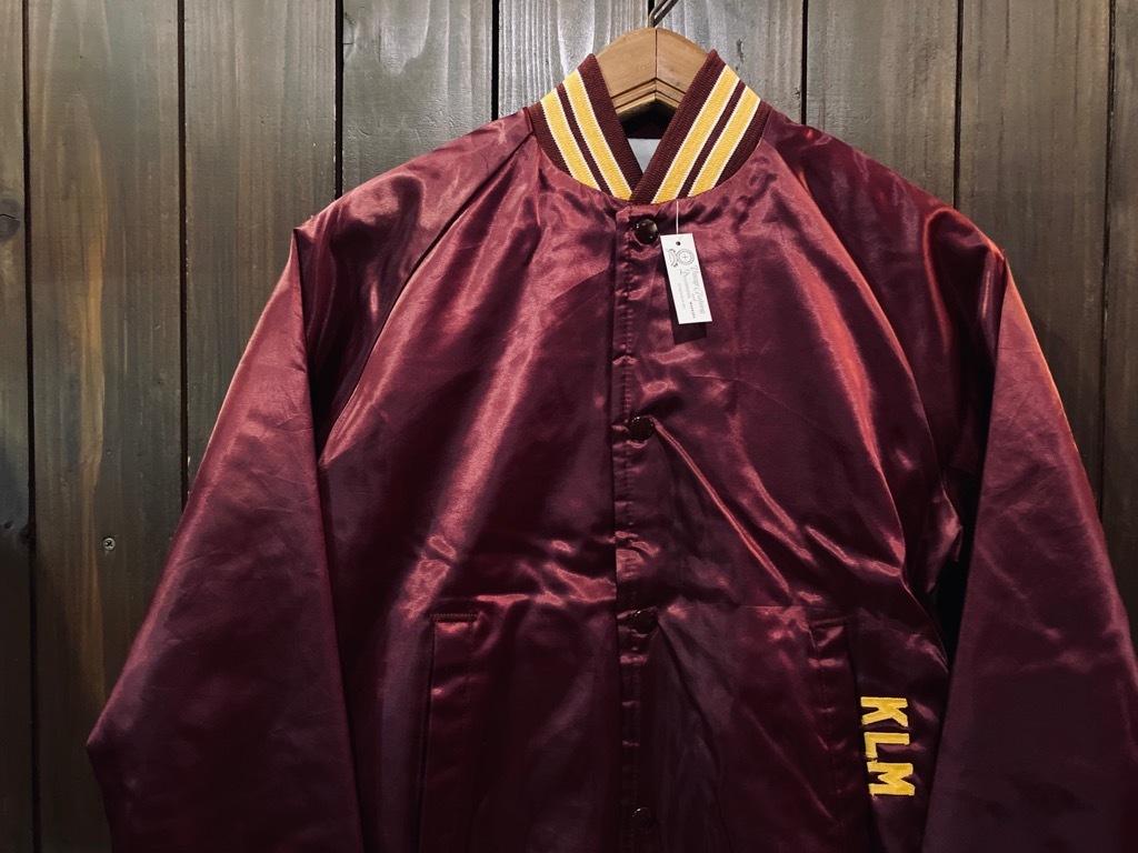 マグネッツ神戸店 8/8(土)Made in U.S.A. Nylon/Satin Varsity Jacket入荷! #1 Satin Varsity JKT!!!_c0078587_14580823.jpg