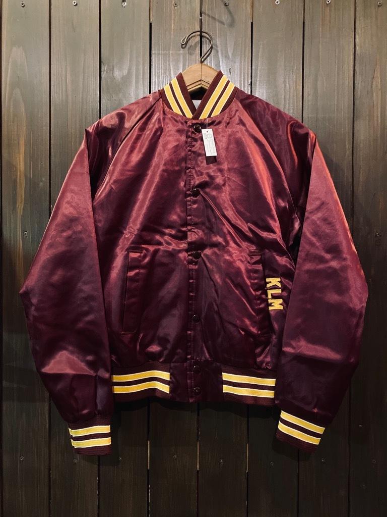 マグネッツ神戸店 8/8(土)Made in U.S.A. Nylon/Satin Varsity Jacket入荷! #1 Satin Varsity JKT!!!_c0078587_14580847.jpg