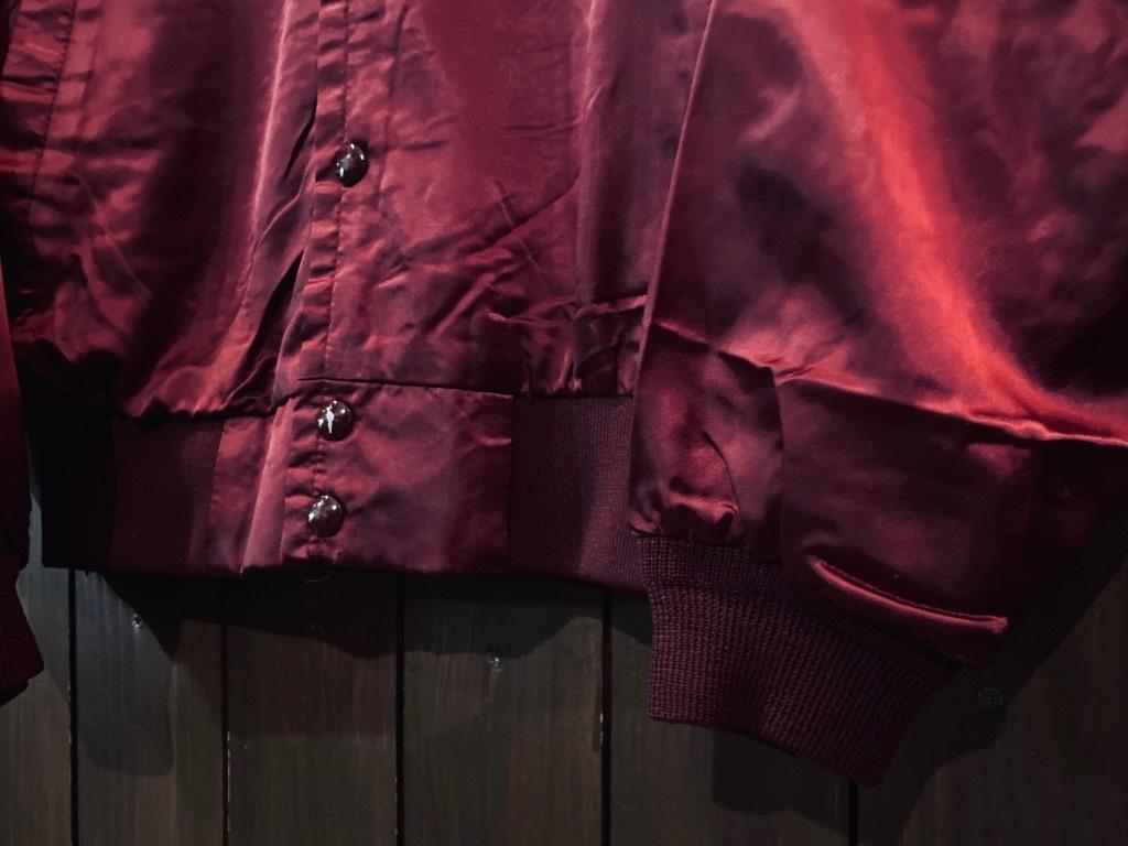 マグネッツ神戸店 8/8(土)Made in U.S.A. Nylon/Satin Varsity Jacket入荷! #1 Satin Varsity JKT!!!_c0078587_14584336.jpg