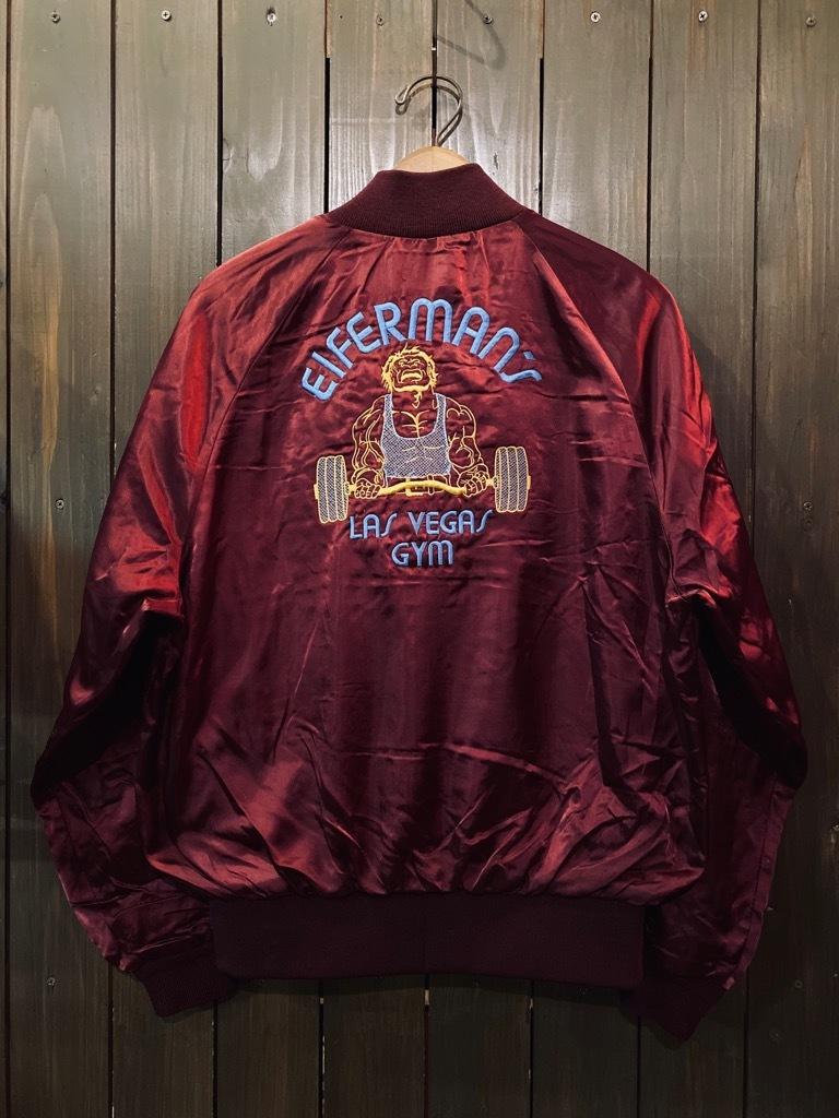 マグネッツ神戸店 8/8(土)Made in U.S.A. Nylon/Satin Varsity Jacket入荷! #1 Satin Varsity JKT!!!_c0078587_14584342.jpg