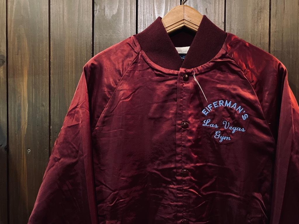 マグネッツ神戸店 8/8(土)Made in U.S.A. Nylon/Satin Varsity Jacket入荷! #1 Satin Varsity JKT!!!_c0078587_14584406.jpg