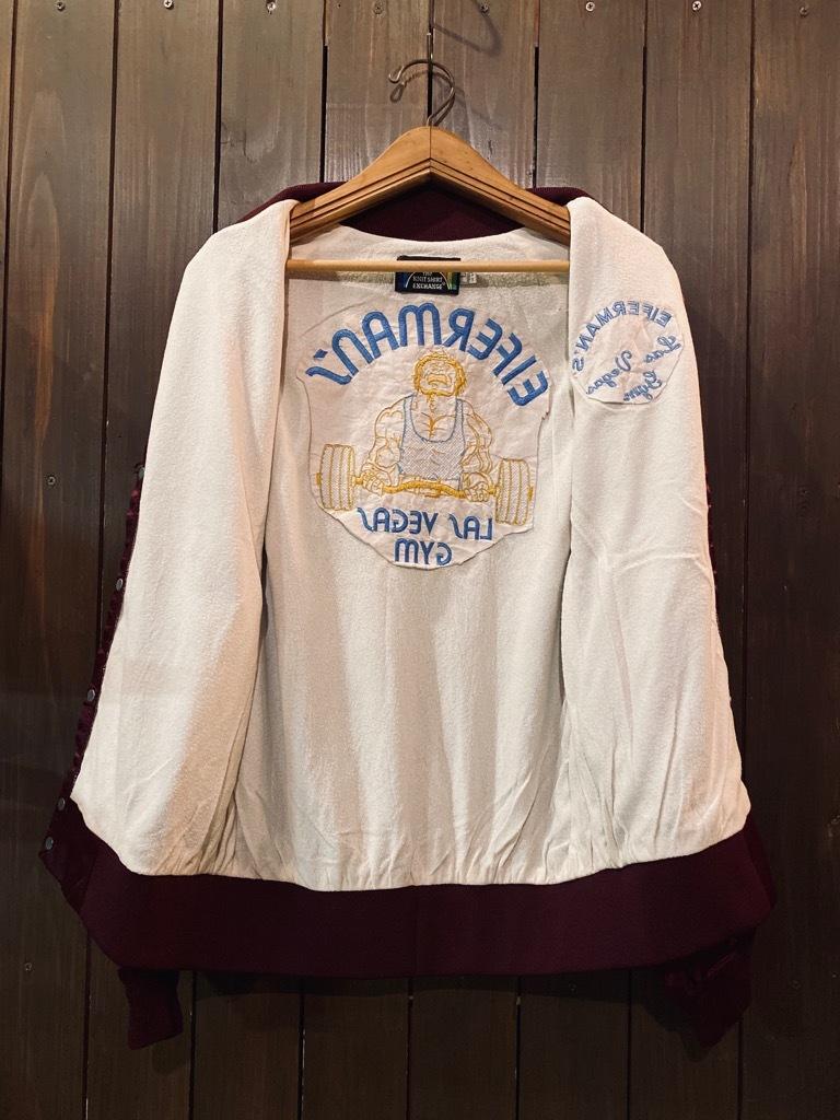 マグネッツ神戸店 8/8(土)Made in U.S.A. Nylon/Satin Varsity Jacket入荷! #1 Satin Varsity JKT!!!_c0078587_14584470.jpg