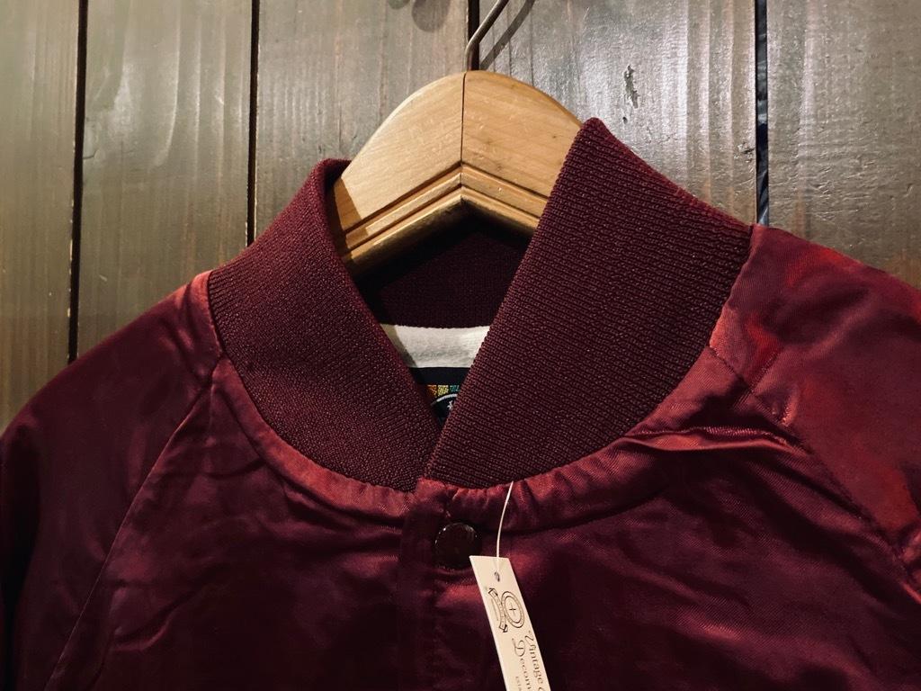 マグネッツ神戸店 8/8(土)Made in U.S.A. Nylon/Satin Varsity Jacket入荷! #1 Satin Varsity JKT!!!_c0078587_14584594.jpg