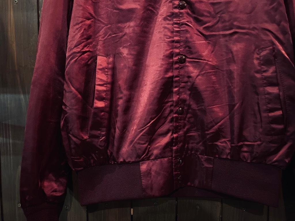 マグネッツ神戸店 8/8(土)Made in U.S.A. Nylon/Satin Varsity Jacket入荷! #1 Satin Varsity JKT!!!_c0078587_14590962.jpg