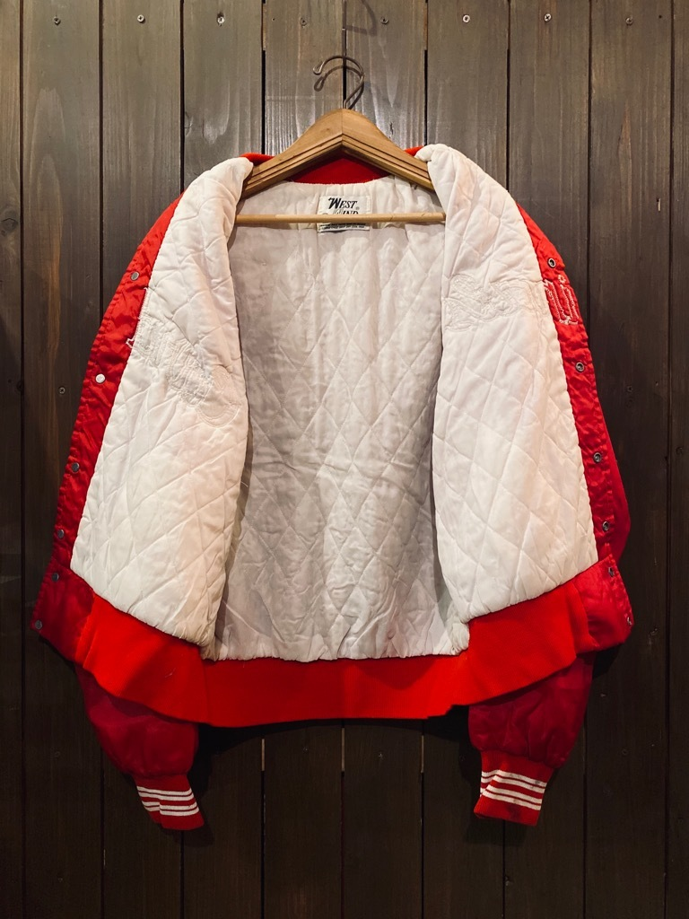 マグネッツ神戸店 8/8(土)Made in U.S.A. Nylon/Satin Varsity Jacket入荷! #2 Mat Body!!!_c0078587_14595804.jpg