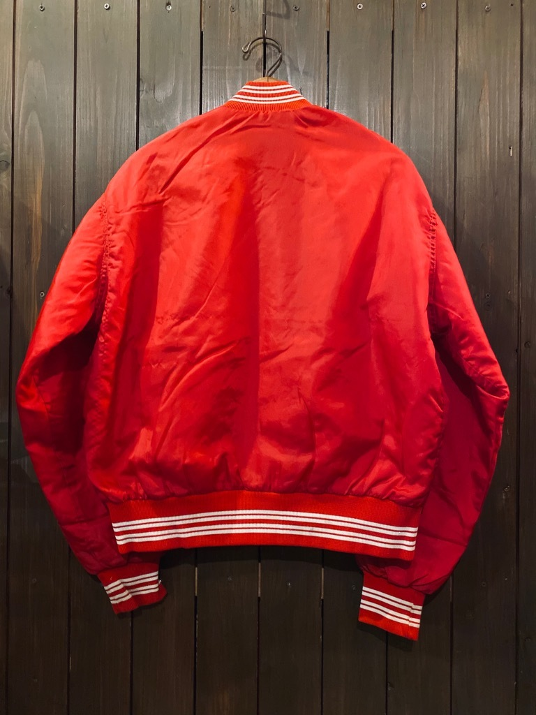 マグネッツ神戸店 8/8(土)Made in U.S.A. Nylon/Satin Varsity Jacket入荷! #2 Mat Body!!!_c0078587_14595831.jpg