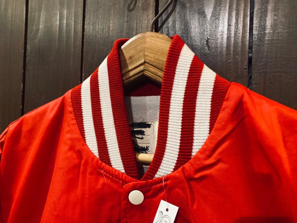 マグネッツ神戸店 8/8(土)Made in U.S.A. Nylon/Satin Varsity Jacket入荷! #2 Mat Body!!!_c0078587_15002979.jpg