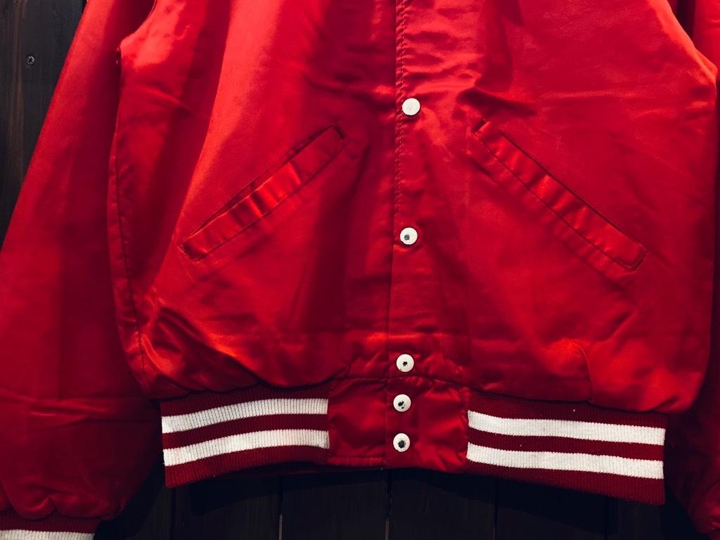 マグネッツ神戸店 8/8(土)Made in U.S.A. Nylon/Satin Varsity Jacket入荷! #2 Mat Body!!!_c0078587_15003010.jpg