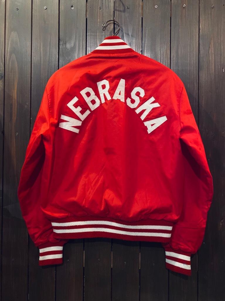 マグネッツ神戸店 8/8(土)Made in U.S.A. Nylon/Satin Varsity Jacket入荷! #2 Mat Body!!!_c0078587_15003046.jpg