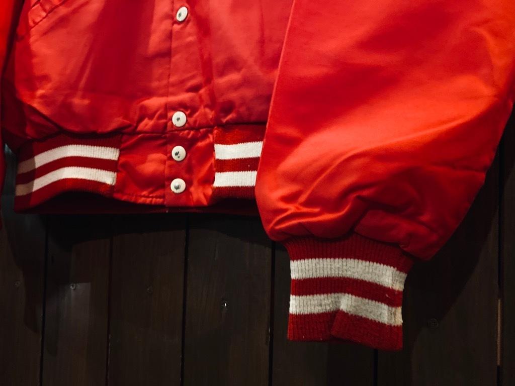 マグネッツ神戸店 8/8(土)Made in U.S.A. Nylon/Satin Varsity Jacket入荷! #2 Mat Body!!!_c0078587_15003094.jpg