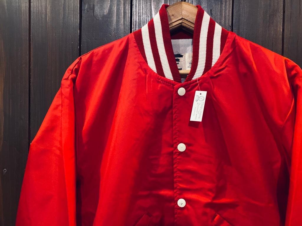 マグネッツ神戸店 8/8(土)Made in U.S.A. Nylon/Satin Varsity Jacket入荷! #2 Mat Body!!!_c0078587_15003168.jpg