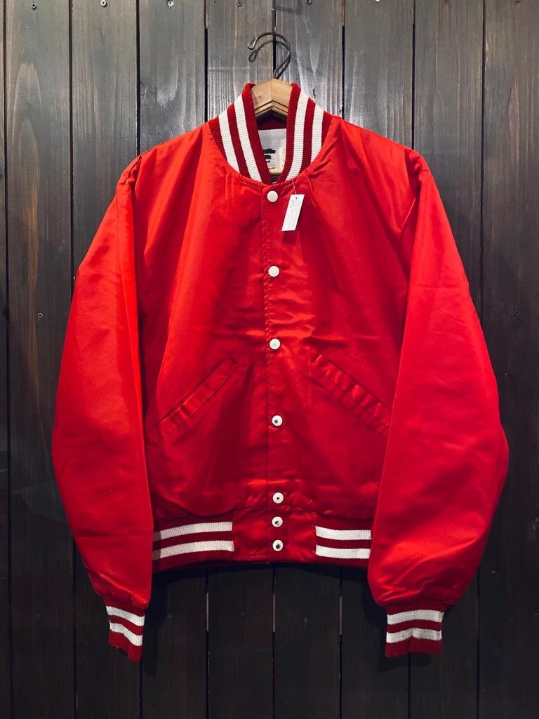 マグネッツ神戸店 8/8(土)Made in U.S.A. Nylon/Satin Varsity Jacket入荷! #2 Mat Body!!!_c0078587_15003180.jpg