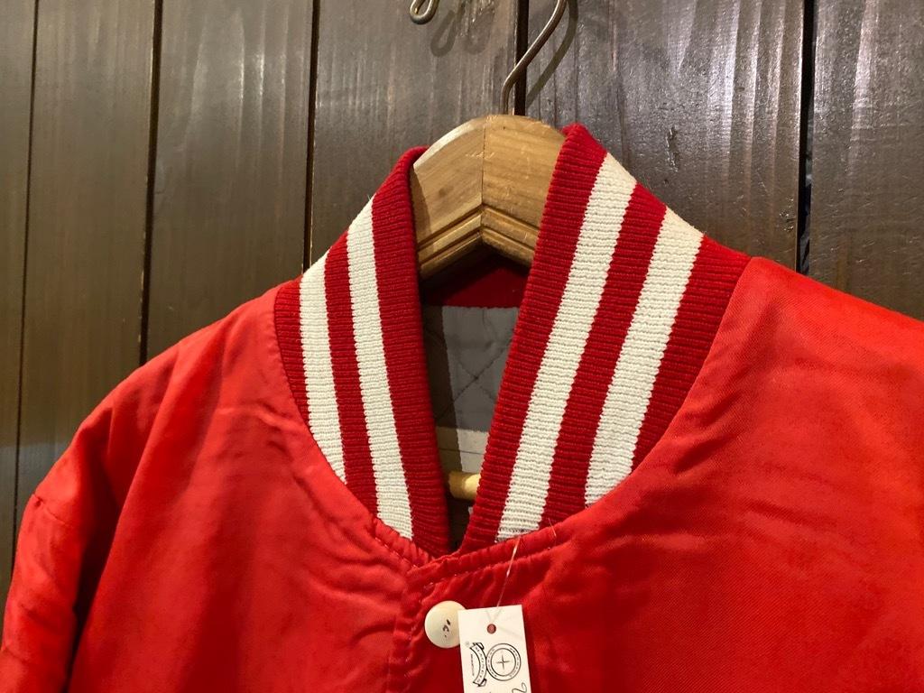 マグネッツ神戸店 8/8(土)Made in U.S.A. Nylon/Satin Varsity Jacket入荷! #2 Mat Body!!!_c0078587_15005049.jpg