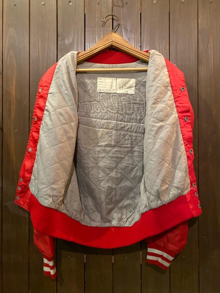 マグネッツ神戸店 8/8(土)Made in U.S.A. Nylon/Satin Varsity Jacket入荷! #2 Mat Body!!!_c0078587_15005101.jpg