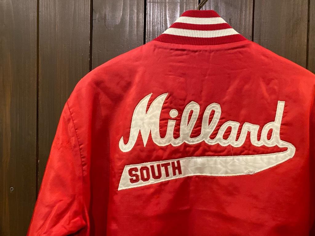 マグネッツ神戸店 8/8(土)Made in U.S.A. Nylon/Satin Varsity Jacket入荷! #2 Mat Body!!!_c0078587_15005186.jpg