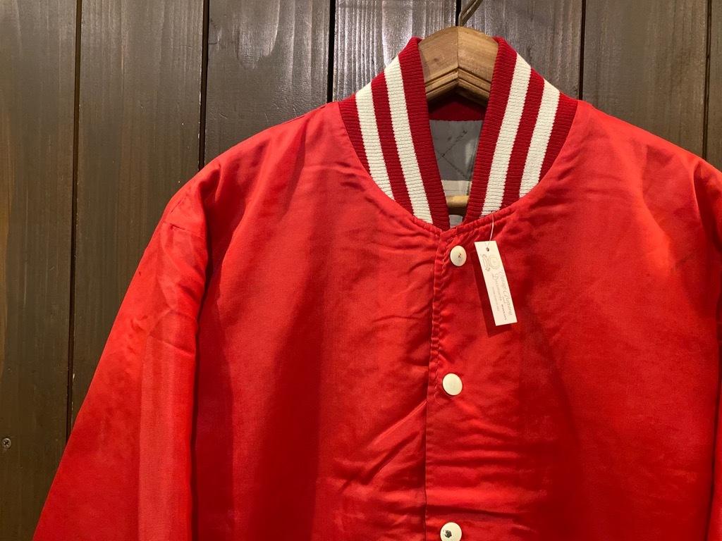 マグネッツ神戸店 8/8(土)Made in U.S.A. Nylon/Satin Varsity Jacket入荷! #2 Mat Body!!!_c0078587_15005200.jpg