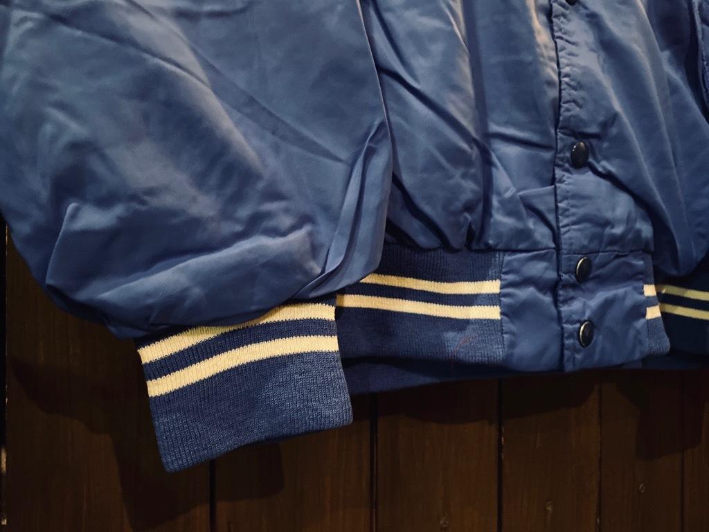 マグネッツ神戸店 8/8(土)Made in U.S.A. Nylon/Satin Varsity Jacket入荷! #2 Mat Body!!!_c0078587_15012036.jpg