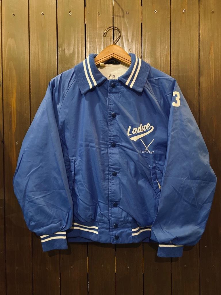マグネッツ神戸店 8/8(土)Made in U.S.A. Nylon/Satin Varsity Jacket入荷! #2 Mat Body!!!_c0078587_15012210.jpg
