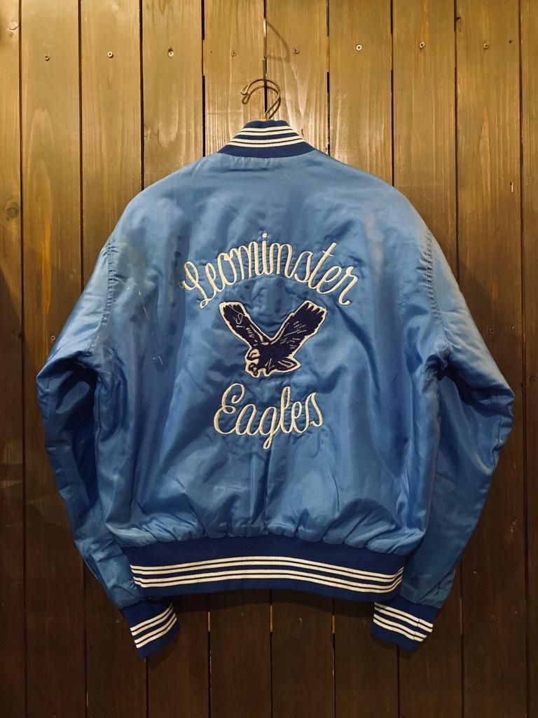 マグネッツ神戸店 8/8(土)Made in U.S.A. Nylon/Satin Varsity Jacket入荷! #2 Mat Body!!!_c0078587_15015603.jpg