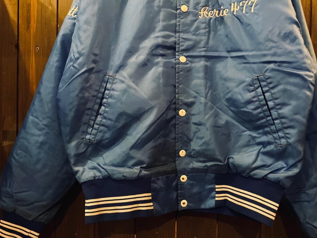 マグネッツ神戸店 8/8(土)Made in U.S.A. Nylon/Satin Varsity Jacket入荷! #2 Mat Body!!!_c0078587_15015632.jpg
