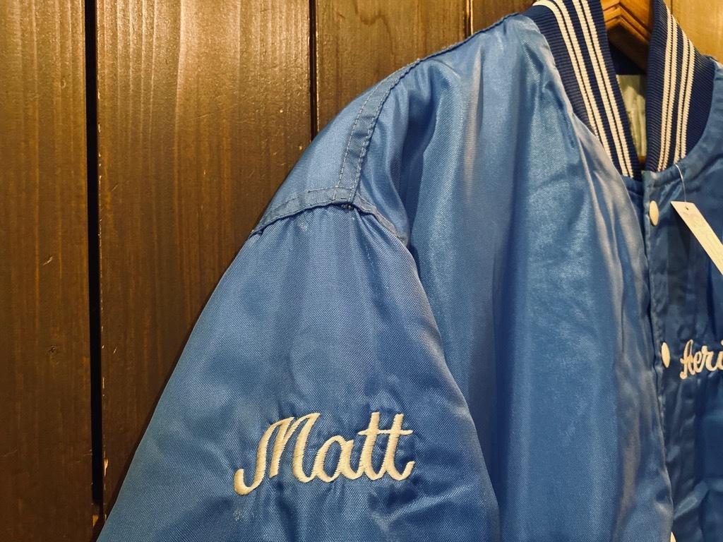 マグネッツ神戸店 8/8(土)Made in U.S.A. Nylon/Satin Varsity Jacket入荷! #2 Mat Body!!!_c0078587_15015671.jpg