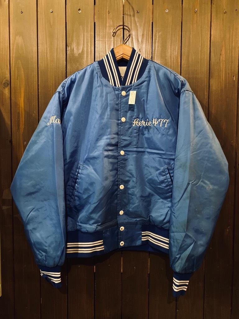 マグネッツ神戸店 8/8(土)Made in U.S.A. Nylon/Satin Varsity Jacket入荷! #2 Mat Body!!!_c0078587_15015707.jpg