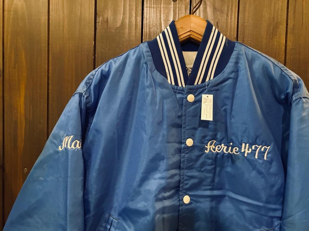 マグネッツ神戸店 8/8(土)Made in U.S.A. Nylon/Satin Varsity Jacket入荷! #2 Mat Body!!!_c0078587_15015720.jpg