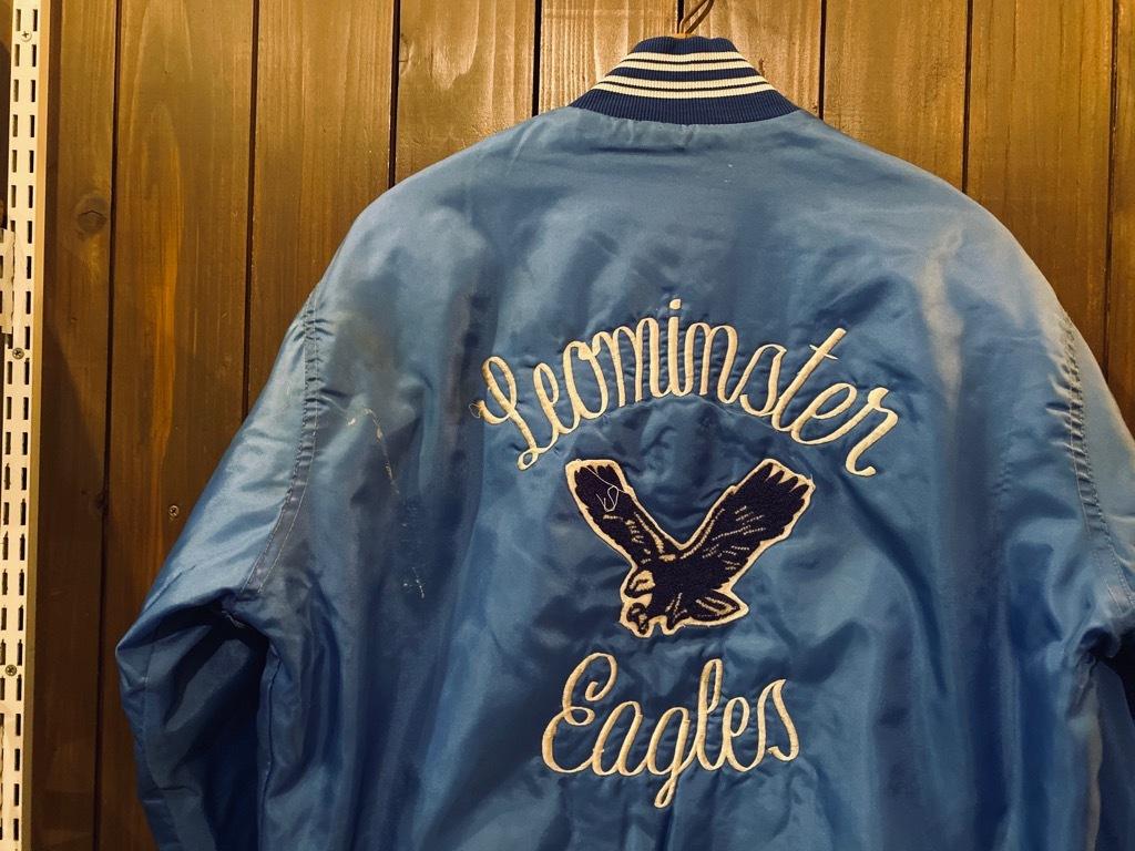 マグネッツ神戸店 8/8(土)Made in U.S.A. Nylon/Satin Varsity Jacket入荷! #2 Mat Body!!!_c0078587_15015788.jpg