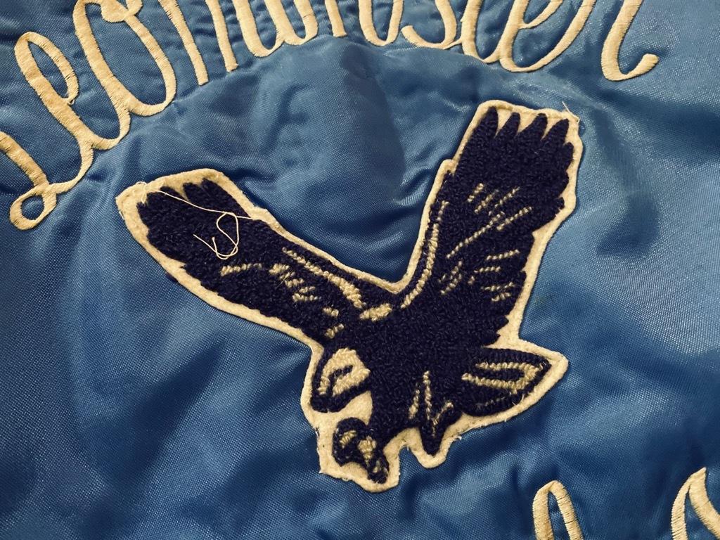 マグネッツ神戸店 8/8(土)Made in U.S.A. Nylon/Satin Varsity Jacket入荷! #2 Mat Body!!!_c0078587_15022953.jpg