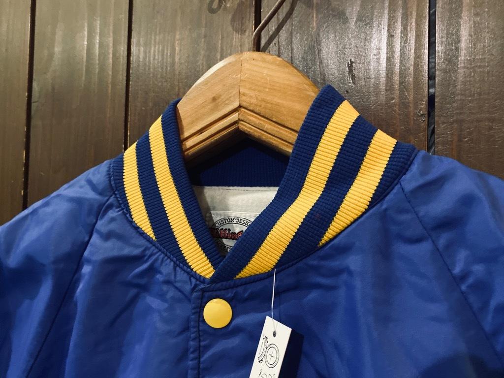 マグネッツ神戸店 8/8(土)Made in U.S.A. Nylon/Satin Varsity Jacket入荷! #2 Mat Body!!!_c0078587_15030211.jpg